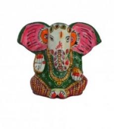 E Craft | Meenakari Lord Ganesha Statue Craft Craft by artist E Craft | Indian Handicraft | ArtZolo.com
