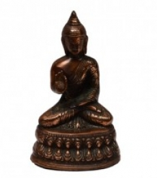 E Craft | Metal Lord Buddha Craft Craft by artist E Craft | Indian Handicraft | ArtZolo.com