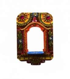 Wall Hanging Kundan Mandir(Temple) | Craft by artist E Craft | Paper