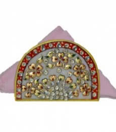 E Craft | Marble Floral Tissue Holder Craft Craft by artist E Craft | Indian Handicraft | ArtZolo.com