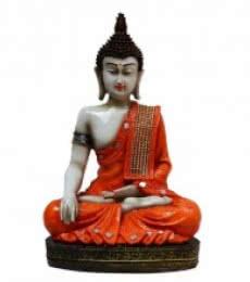 Meditating Buddha | Craft by artist E Craft | Synthetic Fiber