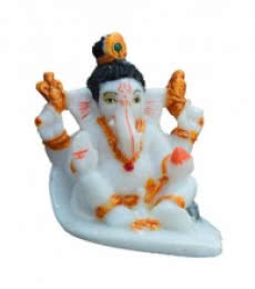 Lord Ganesha | Craft by artist E Craft | Synthetic Fiber