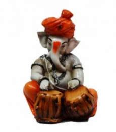 Ganesha Playing Tabla | Craft by artist E Craft | Synthetic Fiber