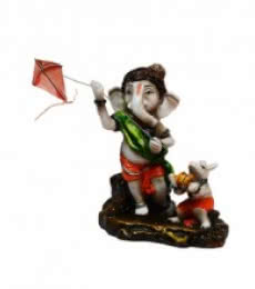 E Craft | Ganesha flying Kites Craft Craft by artist E Craft | Indian Handicraft | ArtZolo.com