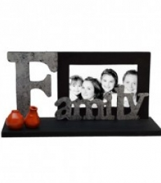 Family Photo Frame | Craft by artist E Craft | wood