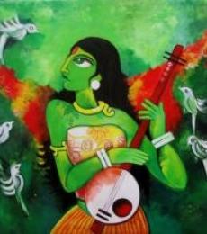 Fairy Tale   Painting by artist Sharmi Dey   acrylic   Canvas