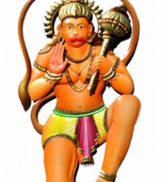Hanuman ji Statue | Craft by artist Handicrafts | Wrought Iron
