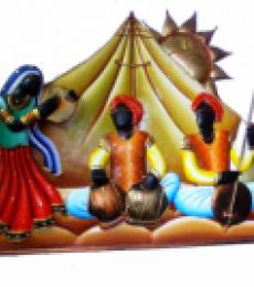 Rajasthani Troup | Craft by artist Handicrafts | Wrought Iron