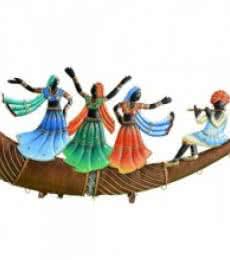 Folk Dance On Trumpet   Craft by artist Handicrafts   Wrought Iron