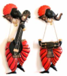 Ganesha Music | Craft by artist Handicrafts | Wrought Iron