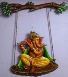 Nitesh | Ganesha Craft Craft by artist Nitesh | Indian Handicraft | ArtZolo.com