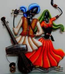 Radha Krishna | Craft by artist Handicrafts | Wrought Iron