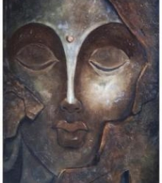 Manoj Muneshwar | Oil Painting title The Face I on Canvas | Artist Manoj Muneshwar Gallery | ArtZolo.com