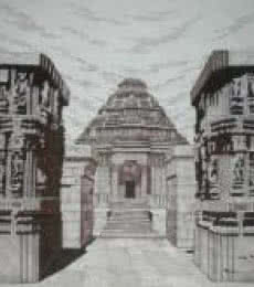 Konark - 03 | Drawing by artist Pradeep Swain | | pen | Paper