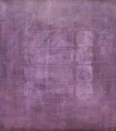 Mohit Bhatia | Acrylic Painting title Solid Mauve Abstract on Canvas | Artist Mohit Bhatia Gallery | ArtZolo.com