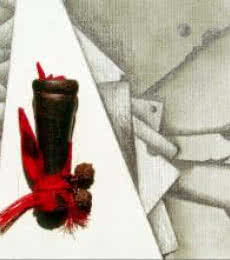 Mixed Media Abstract V | Mixed_media by artist Mohit Bhatia | Paper