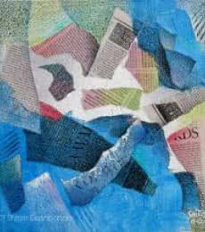 Shaken | Painting by artist Shirish Deshpande | mixed-media | Canvas Board