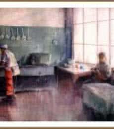 Mcleod Ganj Memory | Painting by artist Amit Kapoor | watercolor | Paper