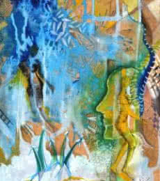 Nature | Painting by artist Shuchi Khanna | mixed-media | Paper