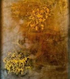 Figurative Acrylic Art Painting title 'Buddha' by artist Shuchi Khanna