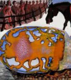 The Birth Of Zero | Painting by artist Mithun Dasgupta | mixed-media | Acid Free Paper
