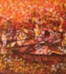 Figurative Acrylic Art Painting title 'Dock' by artist Sarang Singla