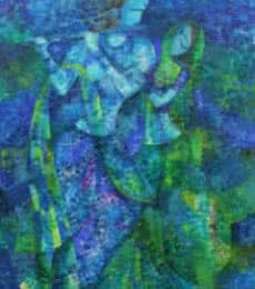 Figurative Acrylic Art Painting title Epic by artist Sarang Singla