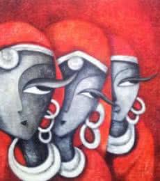 Mesmerizers201248 X 48acrylic On Canvas | Painting by artist Sarang Singla | acrylic | Canvas