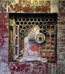 Vivek Rao | Assemblages IX Mixed media by artist Vivek Rao on Mixed Media | ArtZolo.com