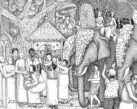 #pooram #pendrawing #kerala #elephant #tradition #india #festival