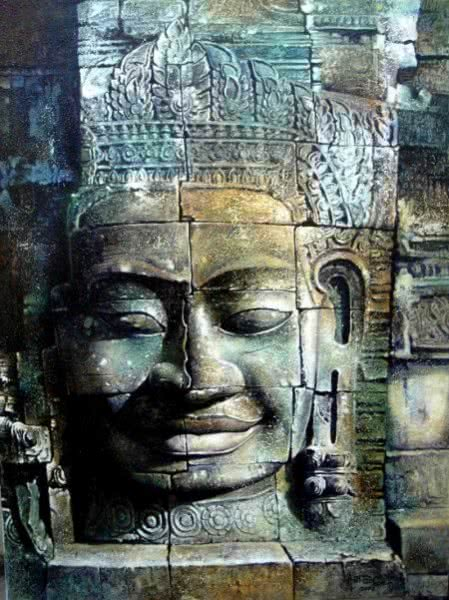 Cambodia Buddha Art & Paintings