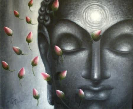 Divya Jyothi Buddha Paintings