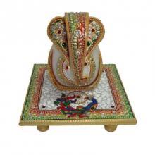 Ecraft India | Generous Lord Ganesha Craft Craft by artist Ecraft India | Indian Handicraft | ArtZolo.com