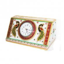 Watch With Pen Stand | Craft by artist Ecraft India | Marble