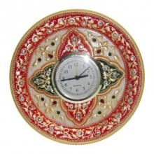 Ecraft India | Circular Table Watch Craft Craft by artist Ecraft India | Indian Handicraft | ArtZolo.com
