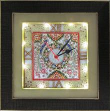 Ecraft India | Embossed Peacock Wall Clock Craft Craft by artist Ecraft India | Indian Handicraft | ArtZolo.com