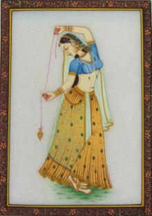 Ecraft India | Dancing Ragini Craft Craft by artist Ecraft India | Indian Handicraft | ArtZolo.com
