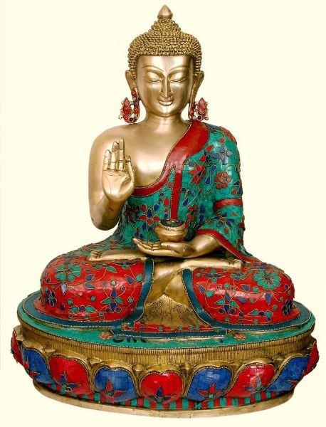 Buddha Brass Idols