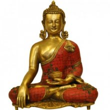 Brass Art | Meditating Buddha Craft Craft by artist Brass Art | Indian Handicraft | ArtZolo.com