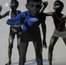 Boys | Painting by artist Manohar Rathod | acrylic | Canvas