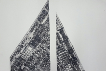 Megha Madan | Sky Scraper Printmaking by artist Megha Madan | Printmaking Art | ArtZolo.com