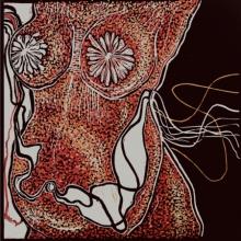 Prachi Sahasrabudhe | Flesh And Blood 1 Printmaking by artist Prachi Sahasrabudhe | Printmaking Art | ArtZolo.com