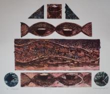 Sukhmoy Bagh | Journey Printmaking by artist Sukhmoy Bagh | Printmaking Art | ArtZolo.com