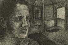 Preya Bhagat | Nobody Knows Printmaking by artist Preya Bhagat | Printmaking Art | ArtZolo.com