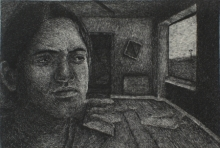 Preya Bhagat | Nobody Knows 2 Printmaking by artist Preya Bhagat | Printmaking Art | ArtZolo.com