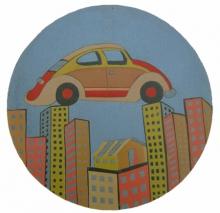 Nagesh Gadekar | Future Expression 1 Printmaking by artist Nagesh Gadekar | Printmaking Art | ArtZolo.com