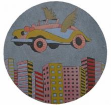 Nagesh Gadekar | Future Expression 2 Printmaking by artist Nagesh Gadekar | Printmaking Art | ArtZolo.com