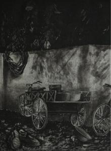 Ankita Daulatabadkar | Untitled 1 Printmaking by artist Ankita Daulatabadkar | Printmaking Art | ArtZolo.com