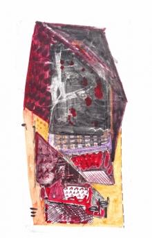 art, printmaking, paper, monoprint, abstract