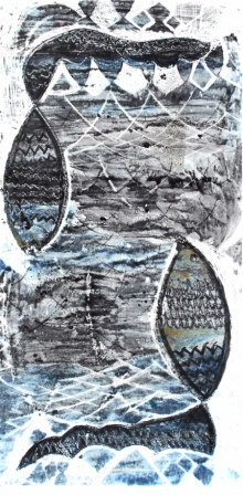 Priya Bambal | Untitled 4 Printmaking by artist Priya Bambal | Printmaking Art | ArtZolo.com